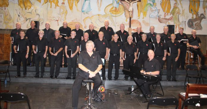 Orihuela Costa Male Voice Choir.