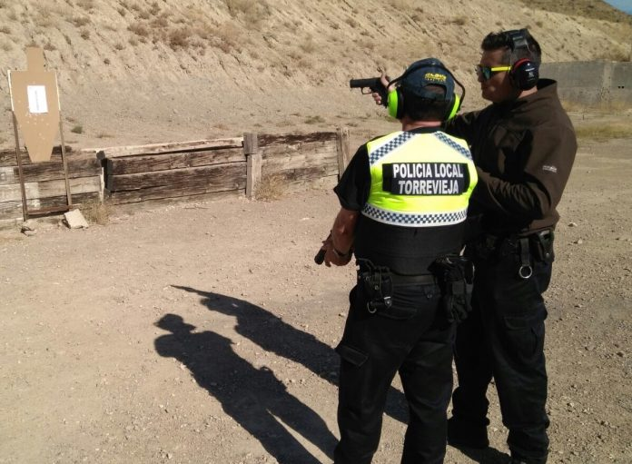 Anti - Terrorist training provided to 16 local police agents