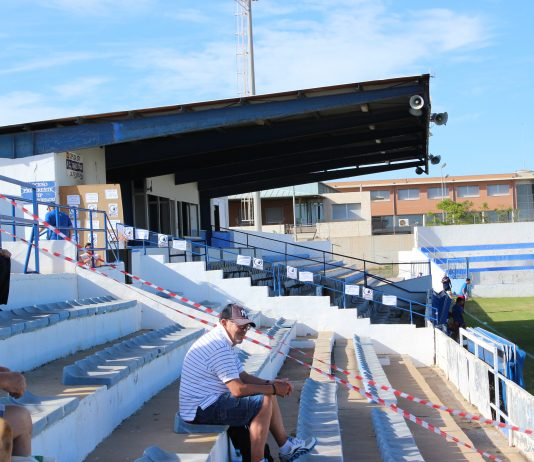 Despite returning to the stadium this year the main stand remains closed