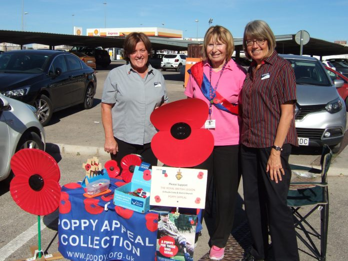 Record Poppy total at Iceland, San Javier