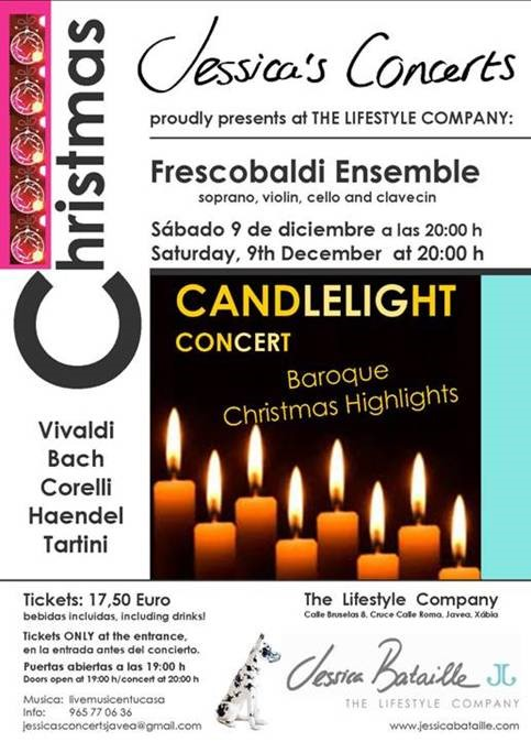 Candlelight Concert in Jávea.
