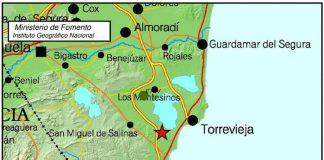 Earthquake measuring 2.3 magnitude shakes the south of Torrevieja