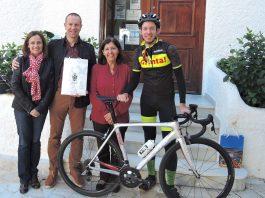 Belgian Cycling Professionals Visit Mojácar