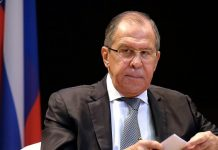 Sergei Lavrov dismisses claims of Russian meddling in the Catalonian independence crisis