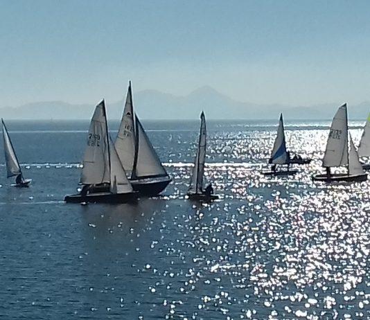 The start of the final regatta
