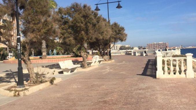 Diputación to invest 1.2 million euros in Torrevieja promenade