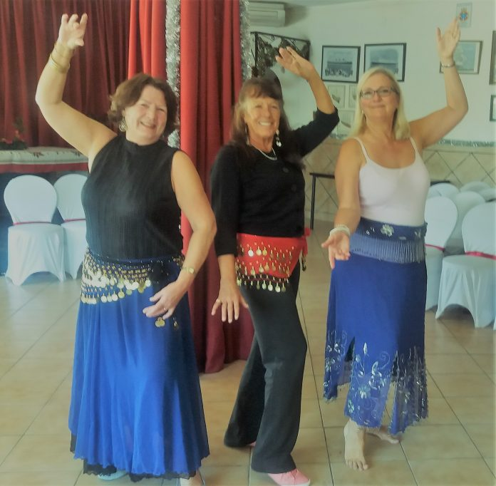 Belly dancing with U3A