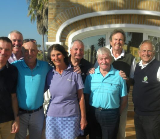 Pego Golf Society Stableford Competition Played at Oliva Nova on Tuesday 21st of November