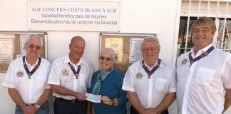 More generosity from the RAOB Patience Lodge