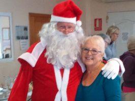 Santa Arrived Safely at the Fair