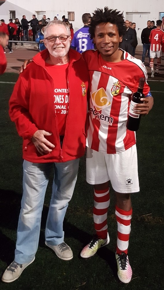 Man of the Match was Vaz.