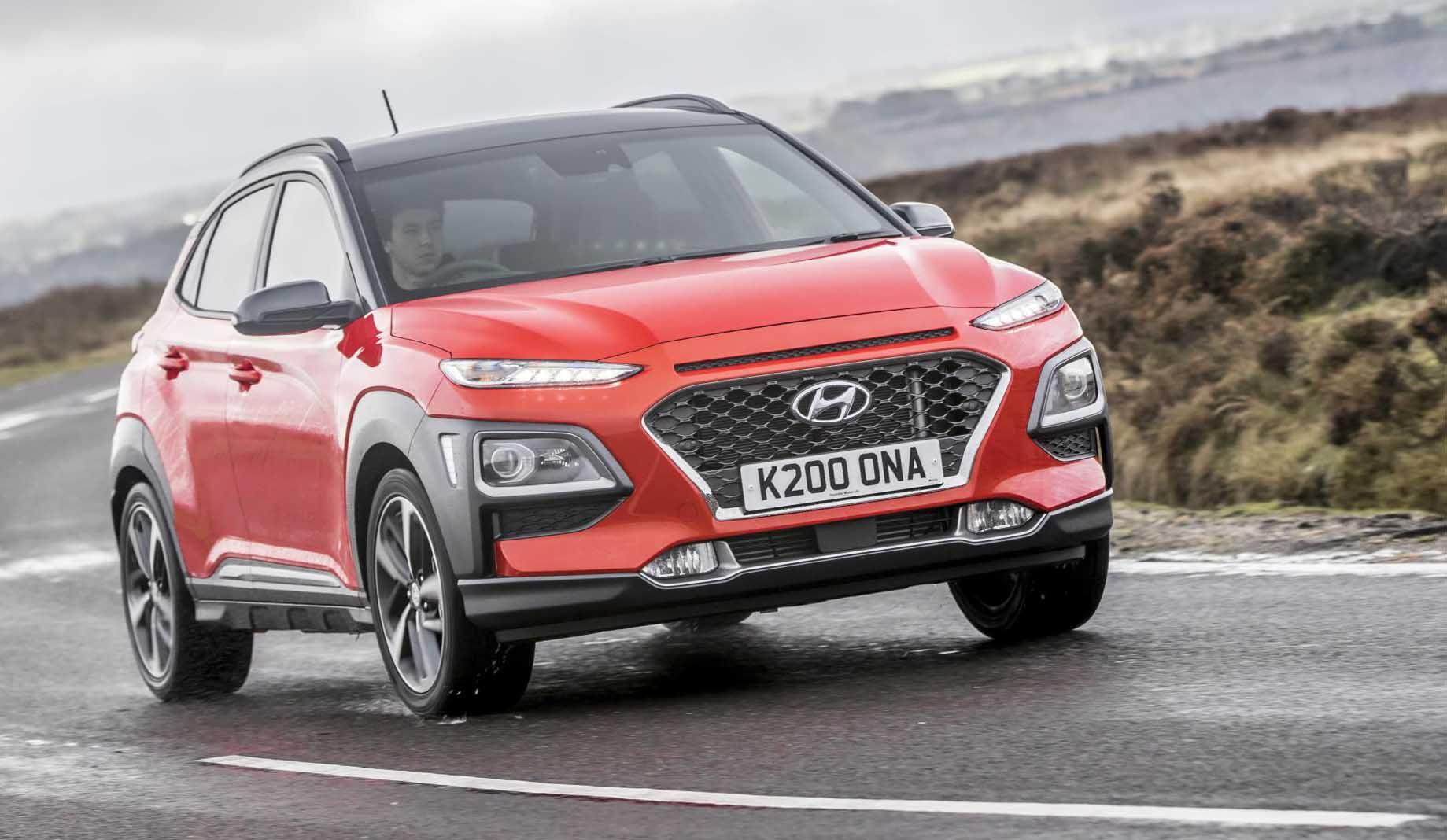 All New Hyundai Kona Achieves Maximum Five Star Euro Ncap Rating