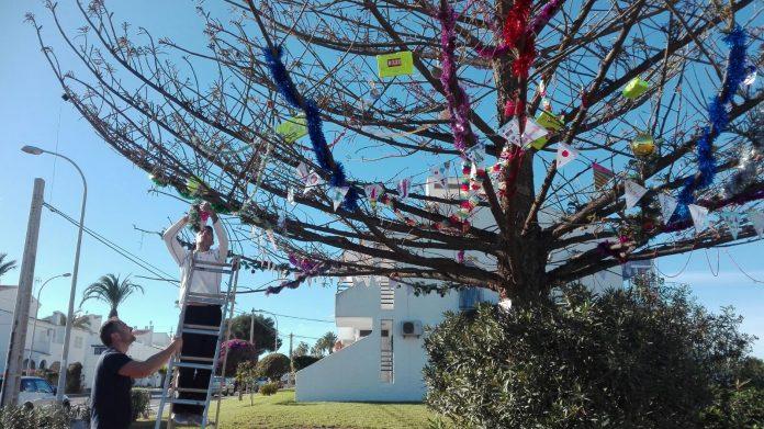 Christmas tree celebrates Diversity of Orihuela Costa