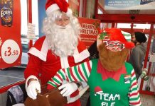 Age Concern spreads the cheer at Christmas