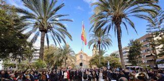 El 39 aniversario de la Constitución celebrated in Torrevieja