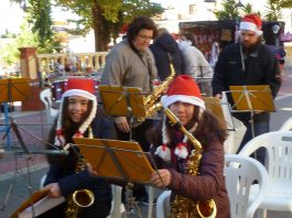 Christmas comes early to Hondón de los Frailes