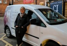 Bev Coghlan, Business owner at The Flower House, Cheshire