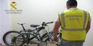 Nine teenagers arrested on Orihuela Costa for stealing bikes
