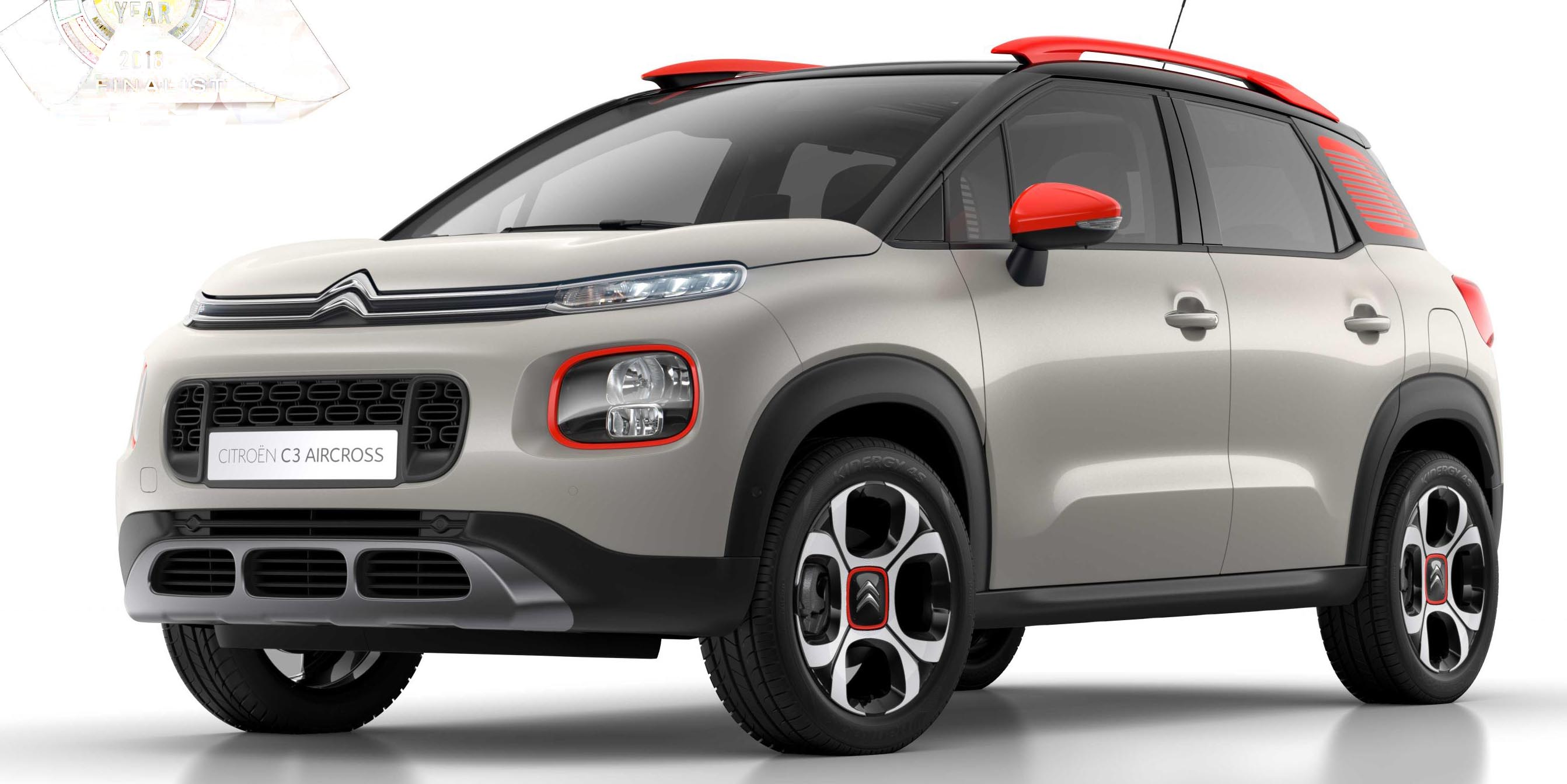 new citro n c3 aircross compact suv a finalist for car of the year 2018 the leader newspaper. Black Bedroom Furniture Sets. Home Design Ideas