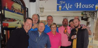 Team Spirit for The Plaza Golf Society