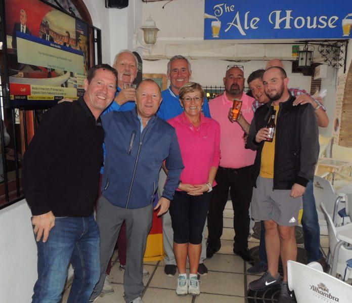 Team Spirit for The Plaza Golf Society