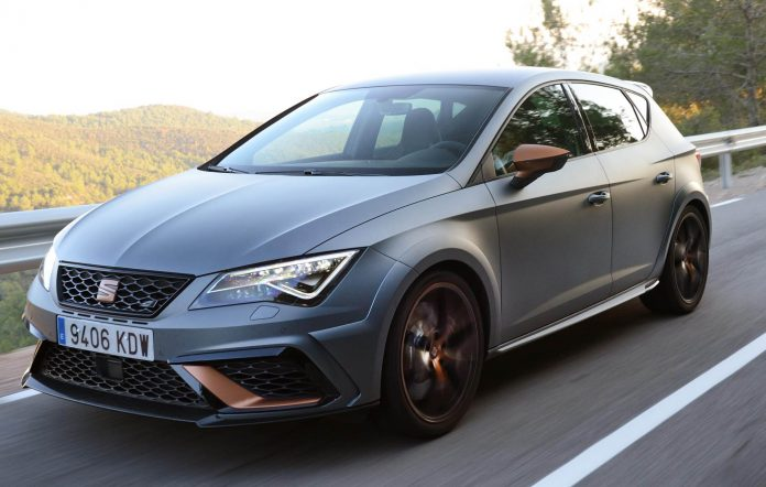 How does it feel to drive the CUPRA R?