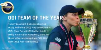 ICC Women's ODI Team of the Year