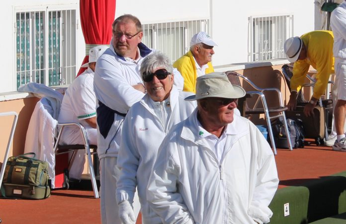 Smiles all round for La Marina Merlins at the Isle