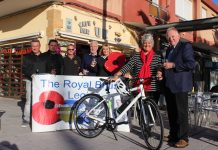 'On yer bike' with Poppy Golf