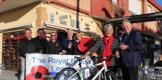 'On yer bike' with Poppy Golf
