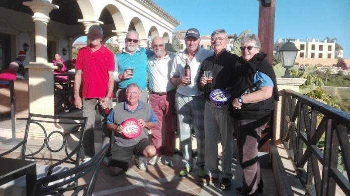 Chaotic start to Orba Golf Day