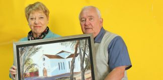 Church painting to be presented by RBL in gratitude
