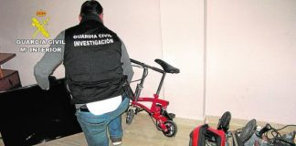 Mar Menor youth gang arrests for stealing and selling drugs