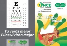 Last chance to support the ONCE fundraising campaign at Specsavers Opticas