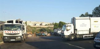Four new waste collection trucks for Orihuela