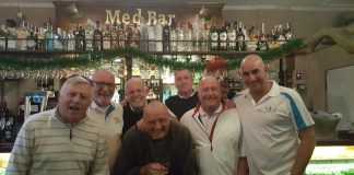 The Med Bar Golf Society, El Raso, Mar Menor 28/11/17