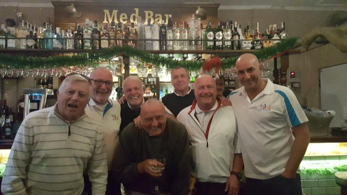 The Med Bar Golf Society, El Raso, Mar Menor 28/11/17