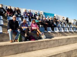 The afternoon Spanish sunshine was little consolation for the Torry faithful