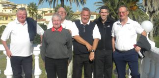 Pego Golf Society Stableford Competition Played At Oliva Nova