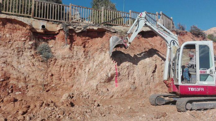 Orihuela spends 240,000 euros on repairing costal embankments