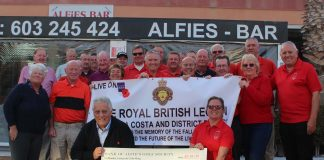 Alfies Golf Society get the RBL year of to a magnificent start