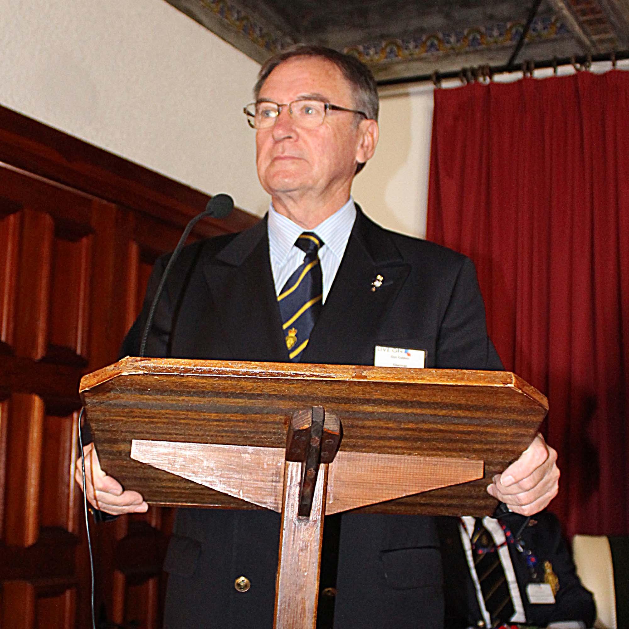 Chairman Don Cubbon