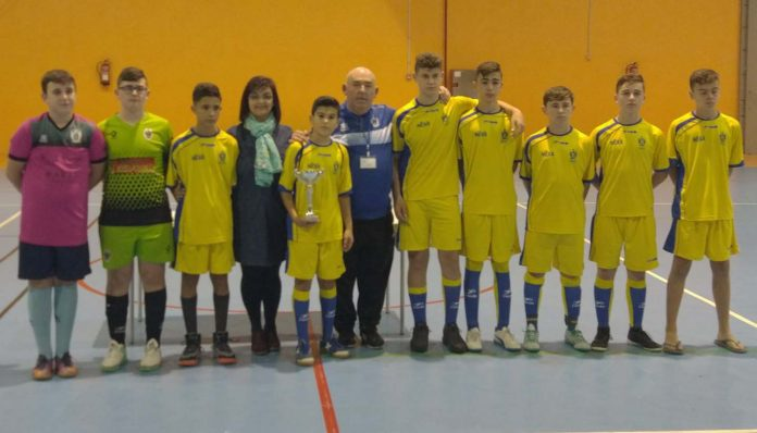 Mojácar Holds 3rd Indoor Youth Football Tournament