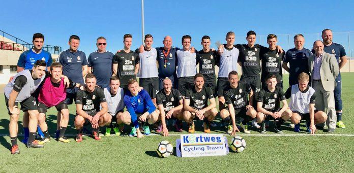 Belgian Football Team Trains In Mojácar