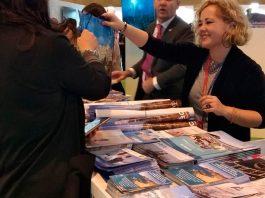 Mojácar Council's Tourism Department takes a stand at Fitur Tourism Fair