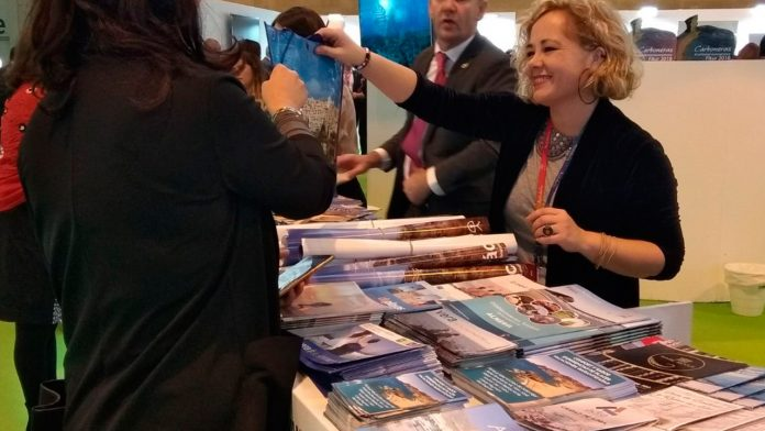 Mojácar  Council's Tourism Department takes a stand at Fitur Tourism Fair
