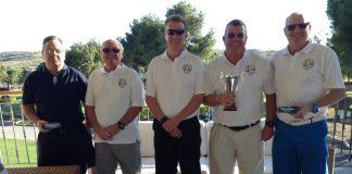 La Marina Golf Society the New Year Trophy