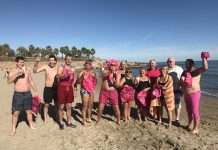 Pink Ladies New Year Swim