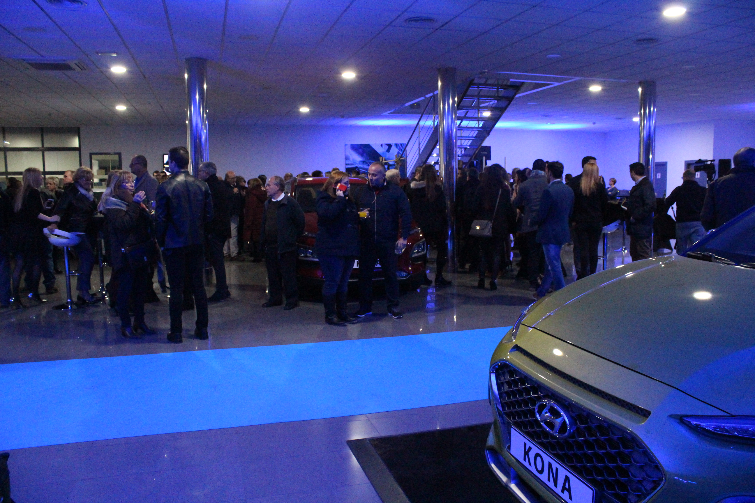 The launch of the all-new Hyundai Kona at Autofima Elche attracted more than 200 guests