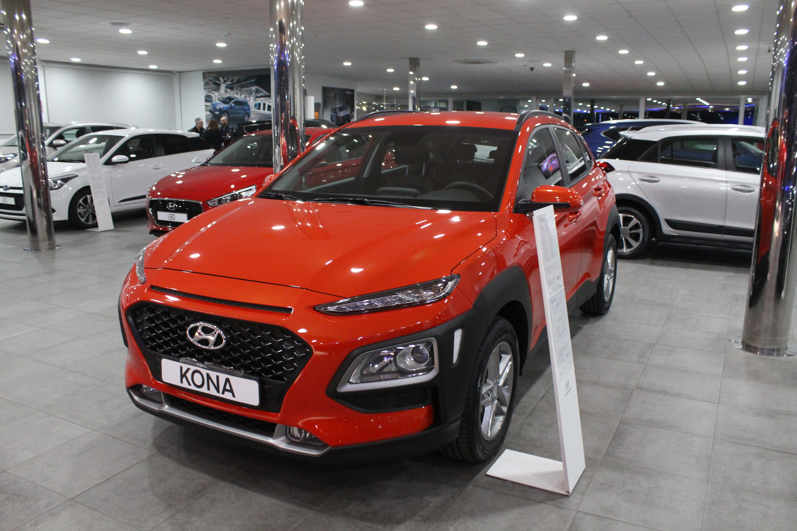 The all-new Hyundai Kona is available to test drive at the Autofima dealerships in Elche and Torrevieja.